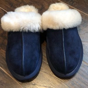 Blue Ugg Slippers